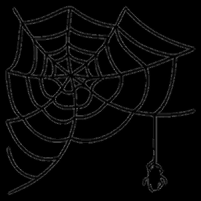 sticker toile d 39 araign e. Black Bedroom Furniture Sets. Home Design Ideas