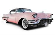 Sticker Déco Cadillac Rose
