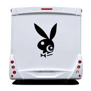 Sticker Wohnwagen/Wohnmobil Playboy Bunny Algérien