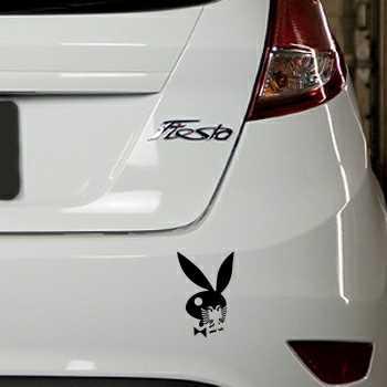 Sticker Ford Fiesta Playboy Bunny Albanais