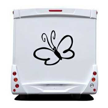Butterfly Camping Car Decal 57