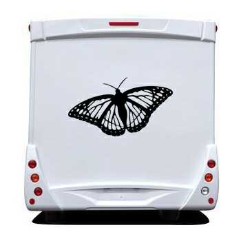 Butterfly Camping Car Decal 61