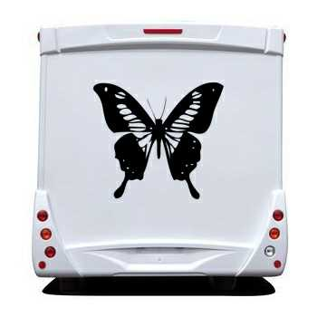 Butterfly Camping Car Decal 63