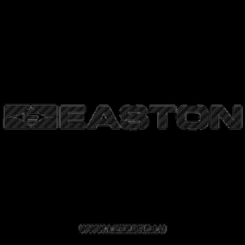 Easton Logo Carbon Decal 4