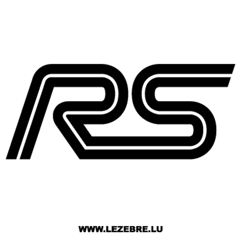 Ford Rs Decal