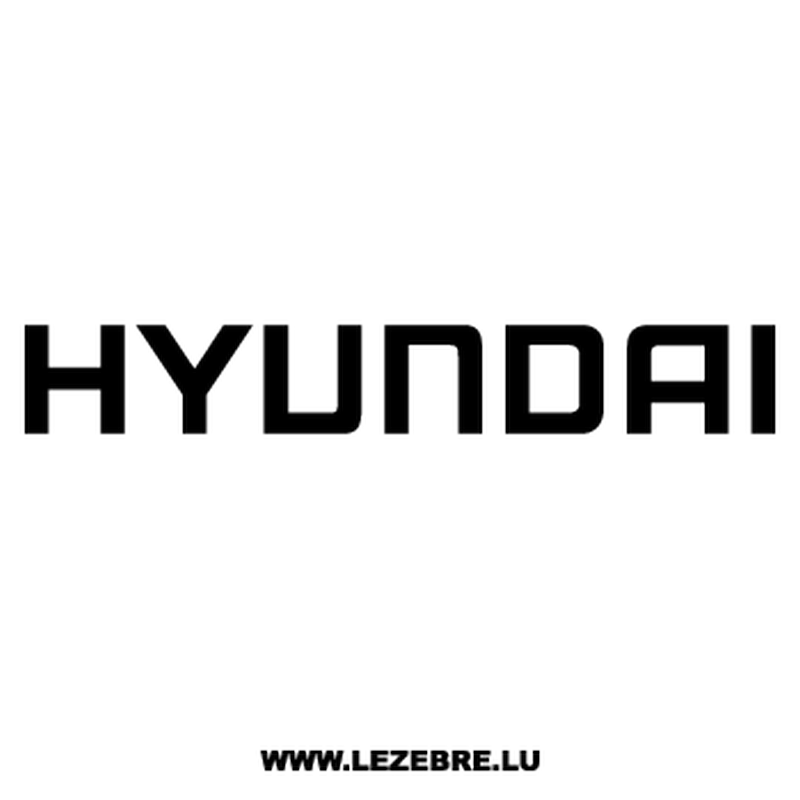 Hyundai Decal
