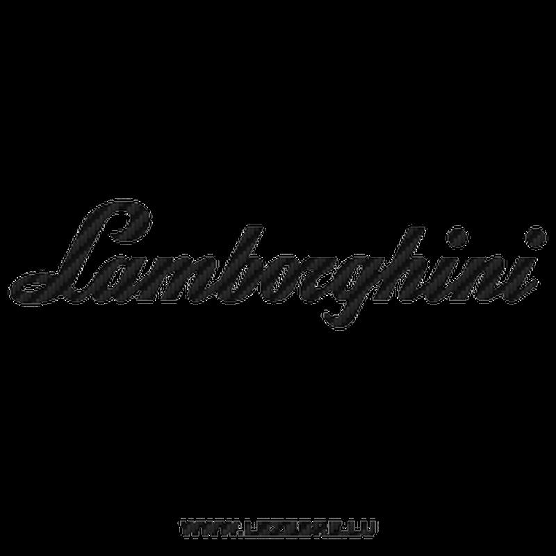 Lamborghini Carbon Decal