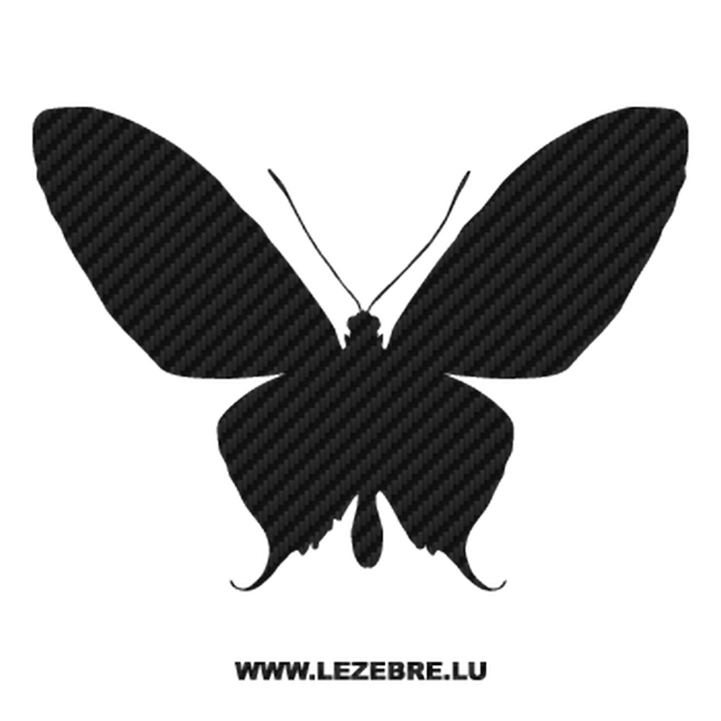 Butterfly Carbon Decal 11