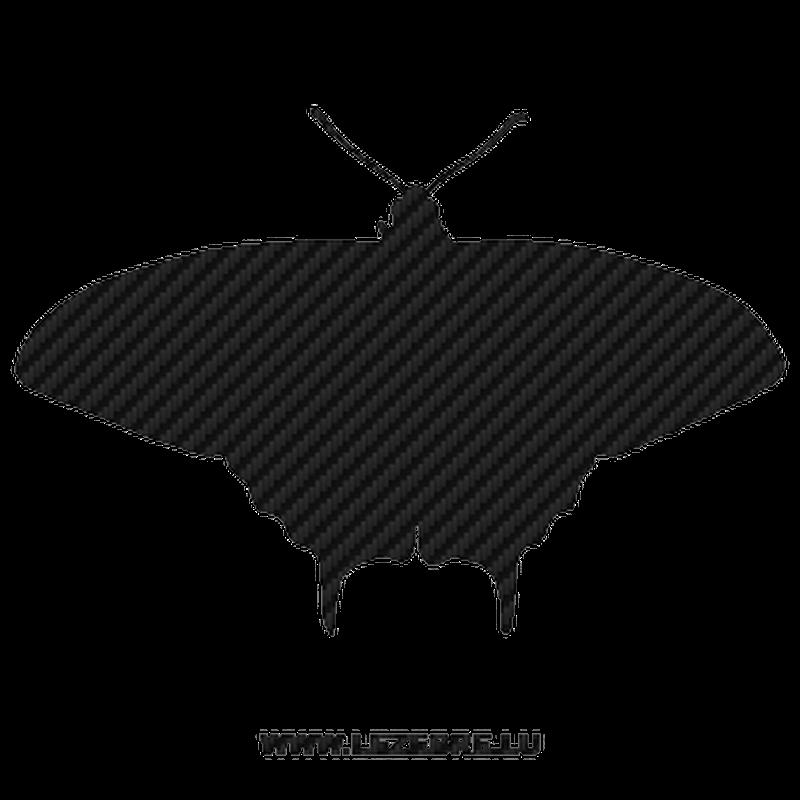 Sticker Karbon Schmetterling 06