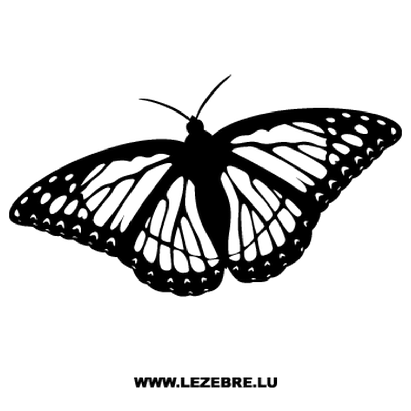 Butterfly Decal 61