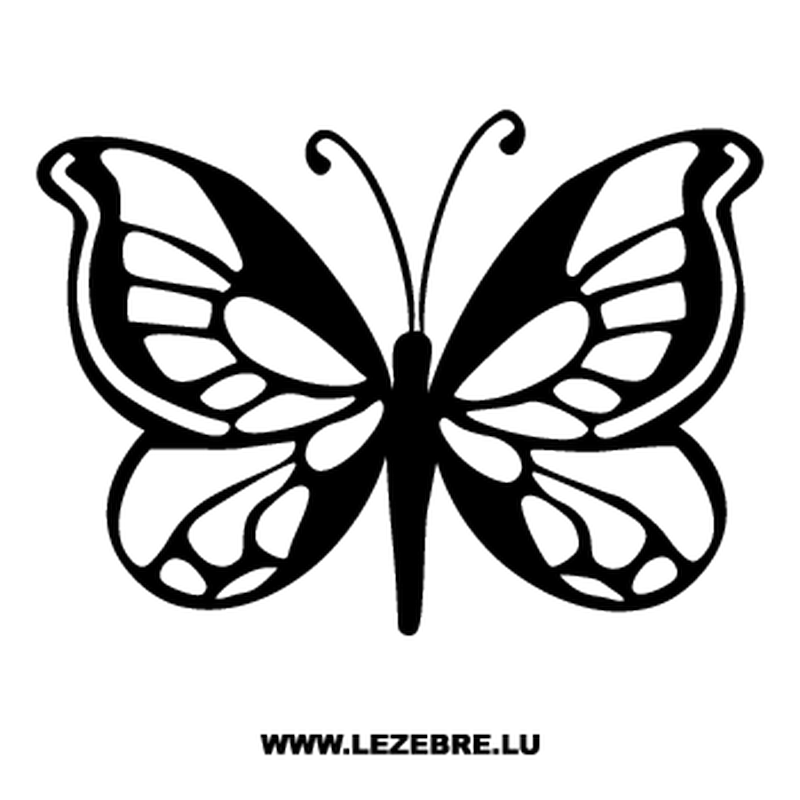 Butterfly Decal 64