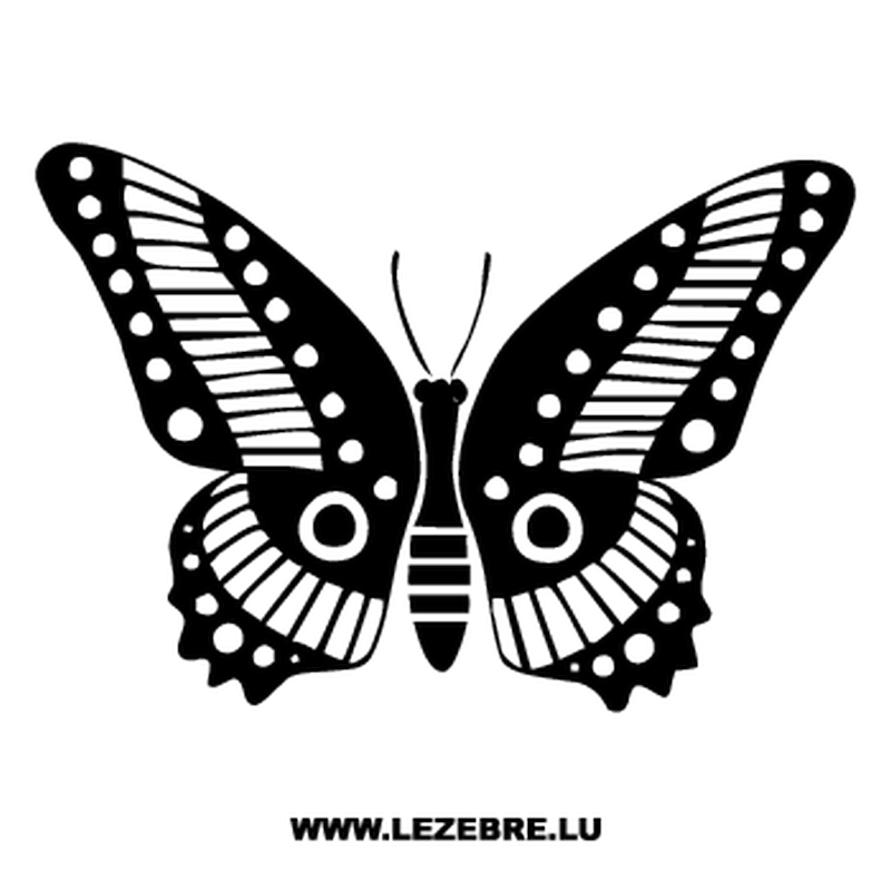 Butterfly Decal 65