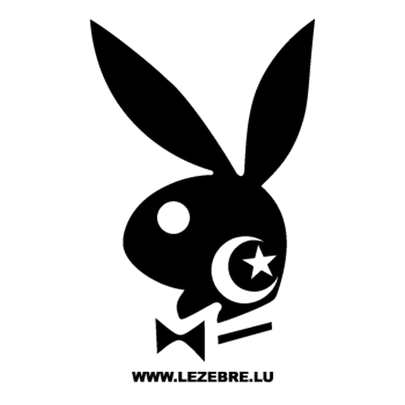 Algerian Playboy Bunny Decal