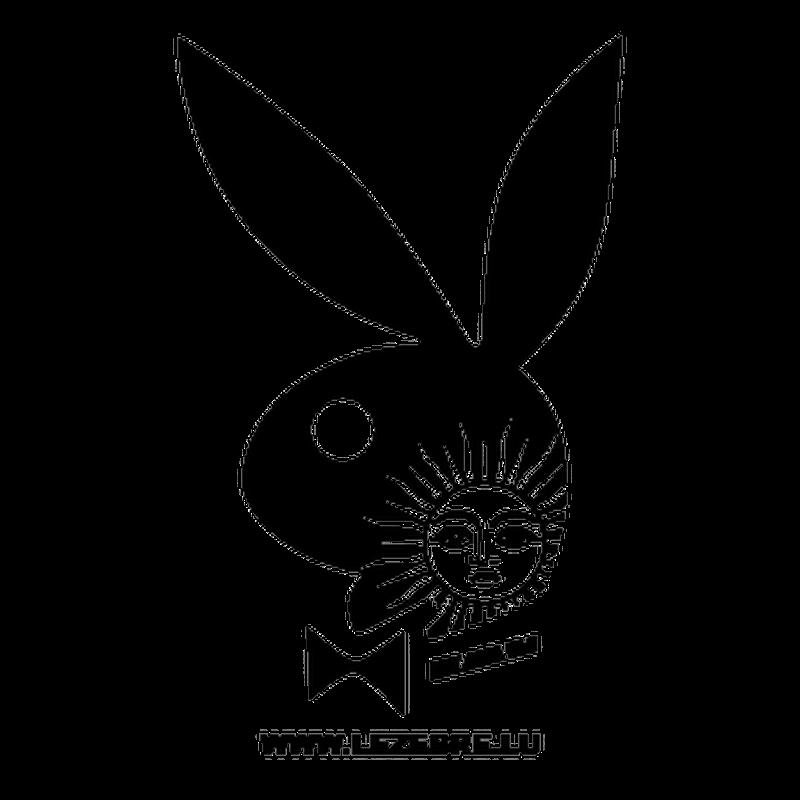 Argentine Playboy Bunny Decal