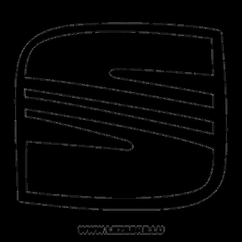 seat logo decal 4. Black Bedroom Furniture Sets. Home Design Ideas
