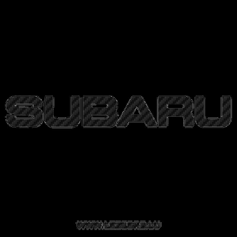 Sticker Carbone Subaru