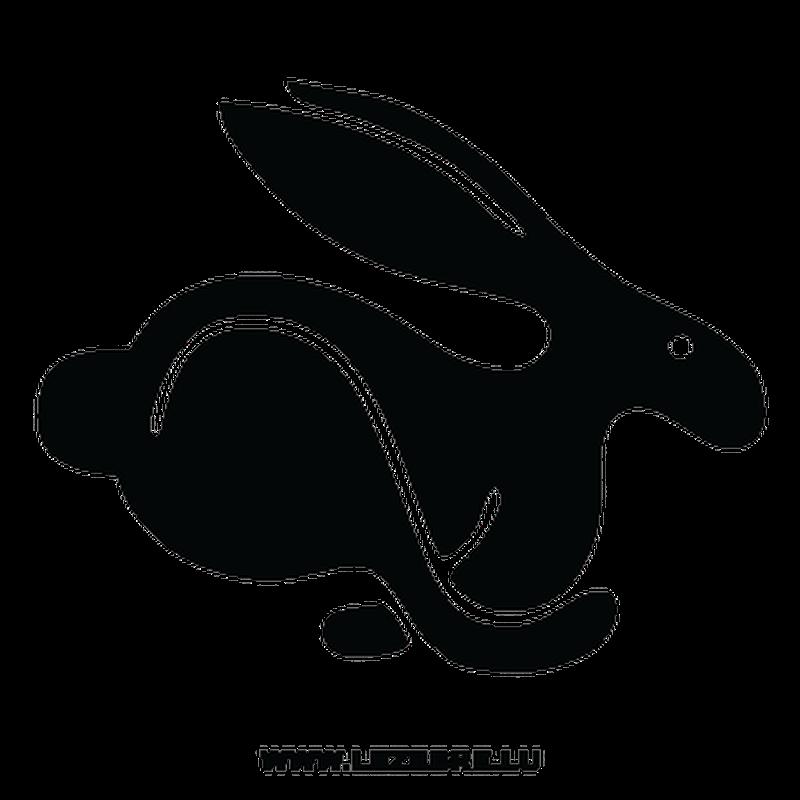 Sticker Volkswagen Rabbit Lapin
