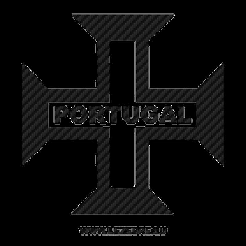 Sticker Carbone Croix Portugal