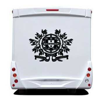 Portugal Escudo Camping Car Decal 2