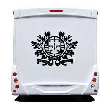 Portugal Escudo Camping Car Decal 2