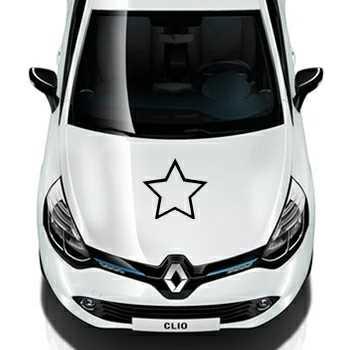 Sticker Renault Déco Étoile 4