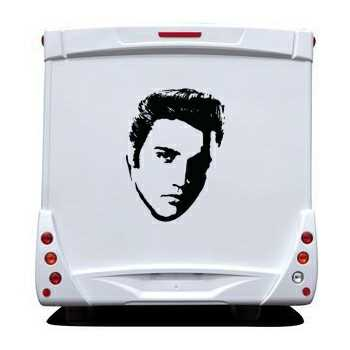 Elvis Presley Camping Car Decal 2