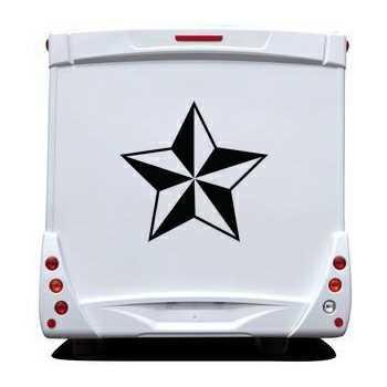 Star Camping Car Decal 6