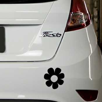 Flower Ford Fiesta Decal 4