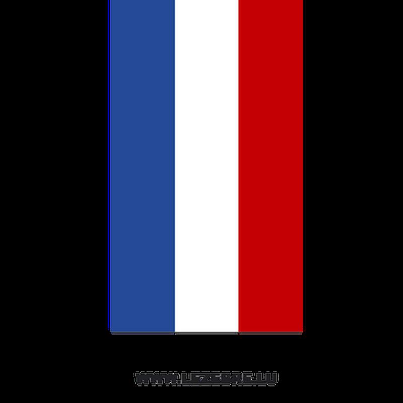 !!! PROMO !!! Bande Autocollante Drapeau Français (5 x 50 cm)