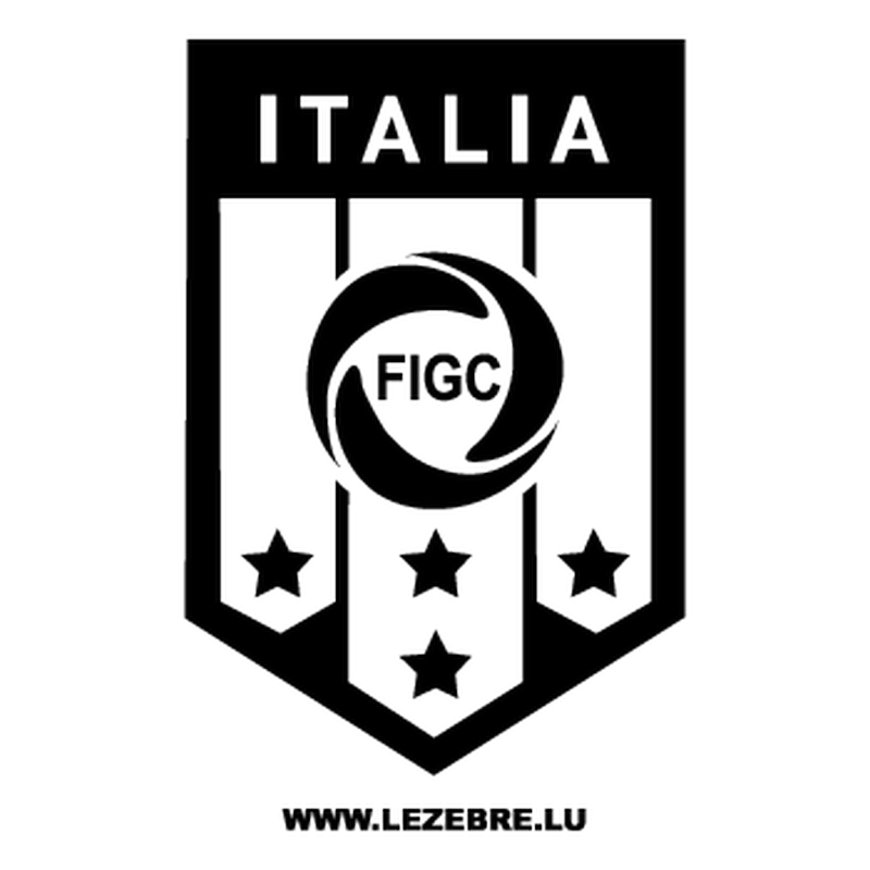 Italia FIGC Decal