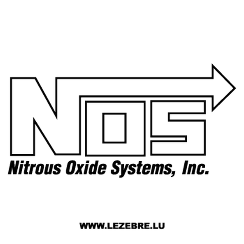 NOS Nitrous Oxide Systems Decal