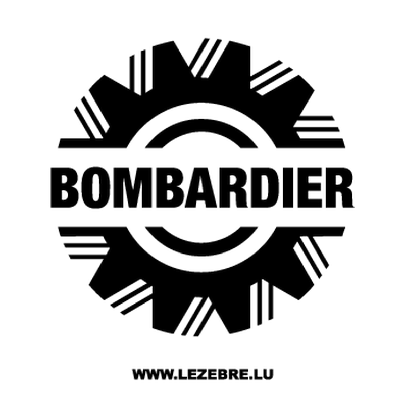 Bombardier Logo Decal