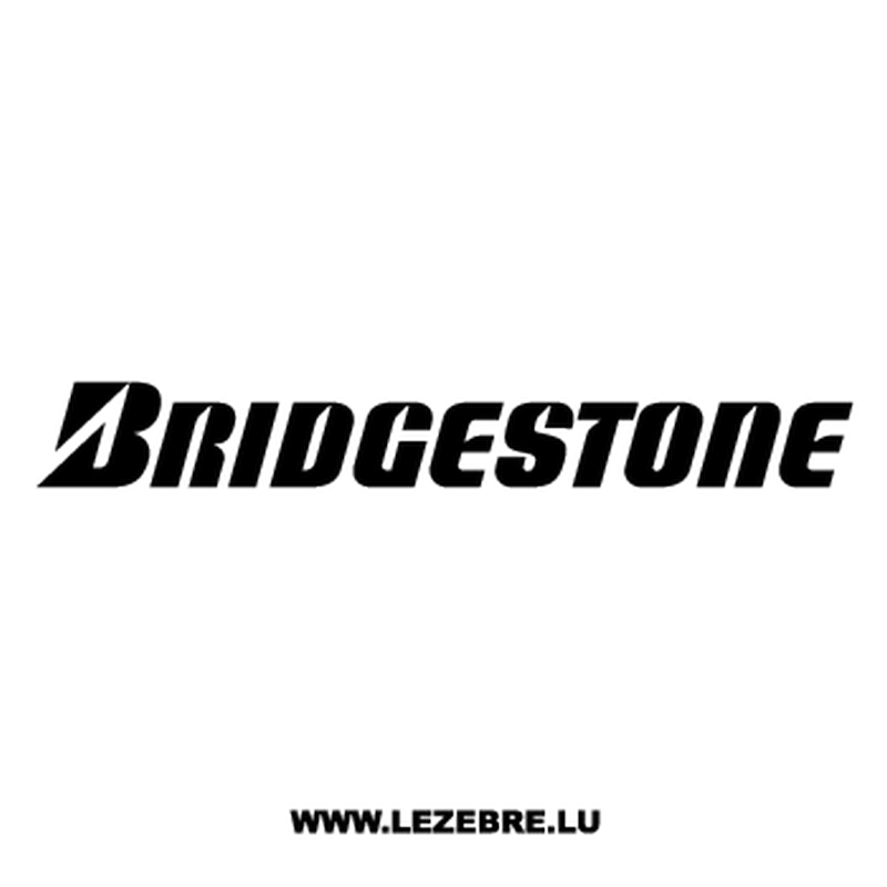 Sticker Bridgestone Logo