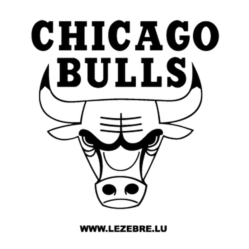 Chicago Bulls Windy City Black And White