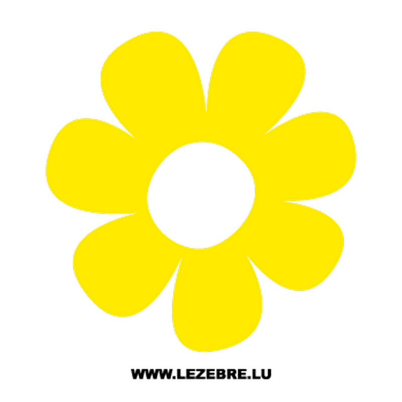 Flower Decal 4