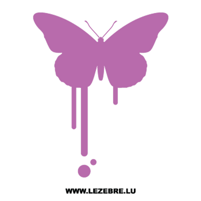 Butterfly Decal 67