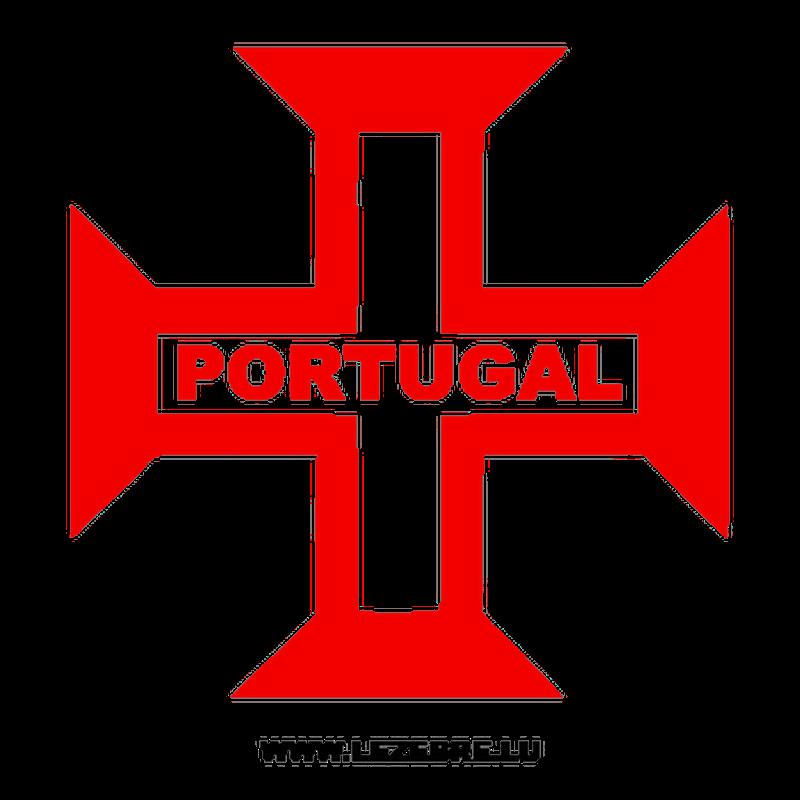 Portugal Cross Decal