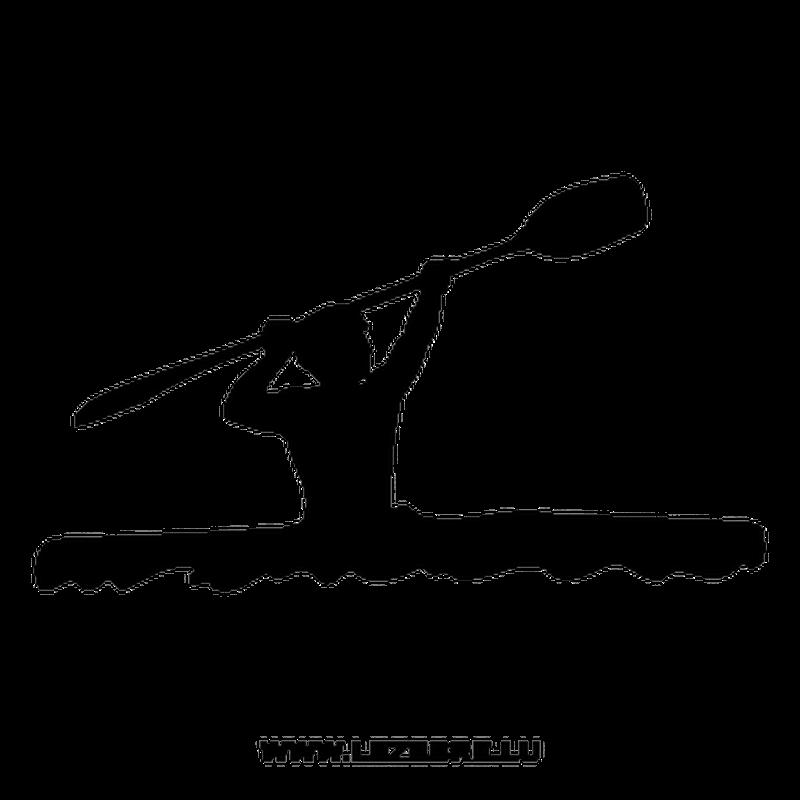 Canoe-Kayak Decal 3