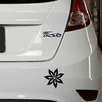 Flower Ford Fiesta Decal 7