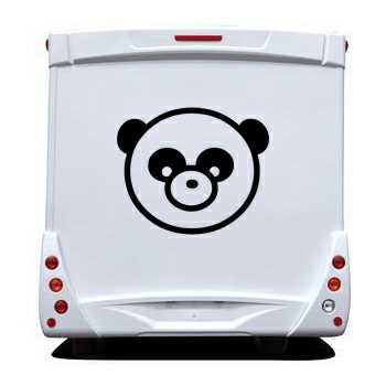 Panda Camping Car Decal