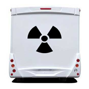 Nuclear Camping Car Decal