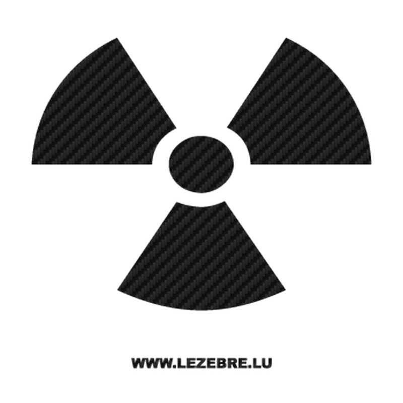 Nuclear Carbon Decal
