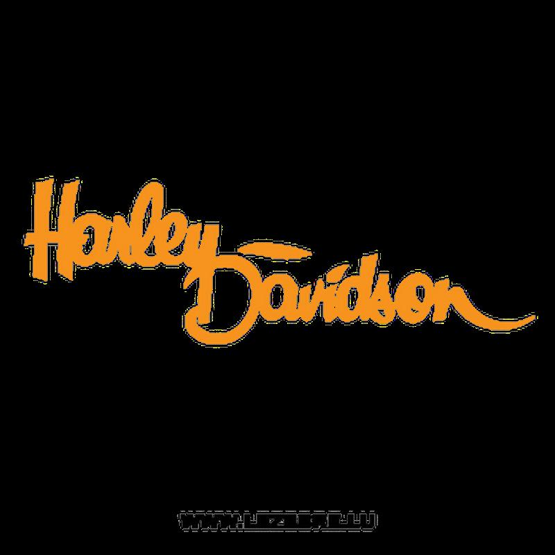 Harley Davidson Logo Decal 2