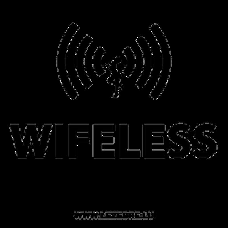 T-Shirt Wifeless parody Wireless