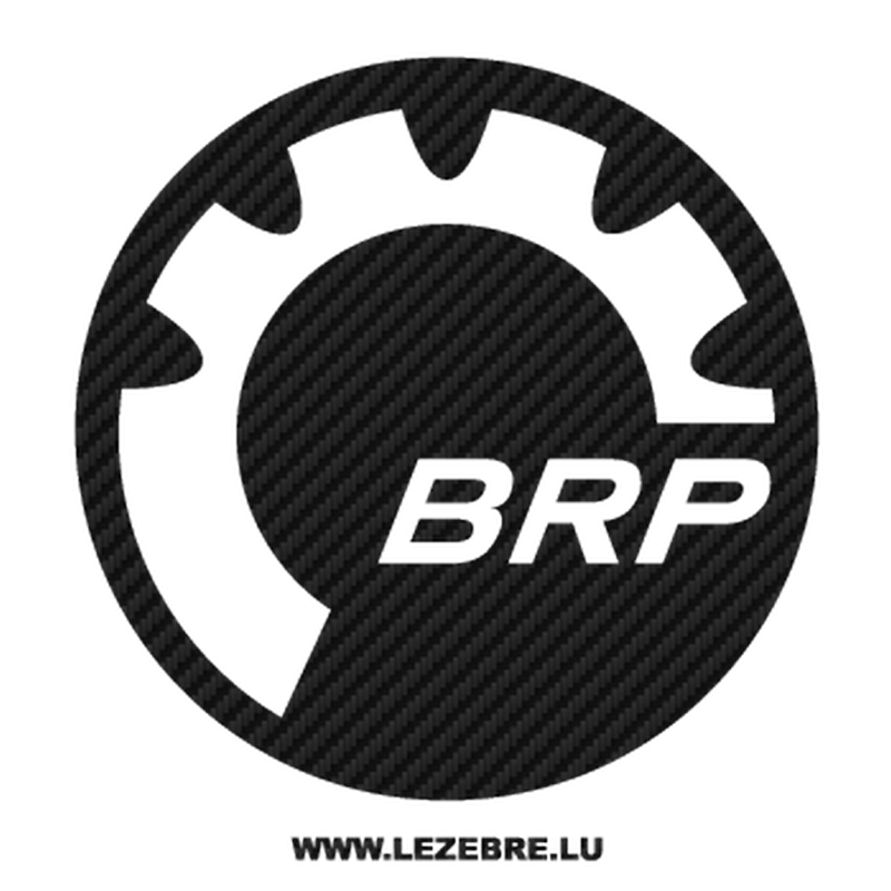 BRP Bombardier Recreational Products Carbon Decal