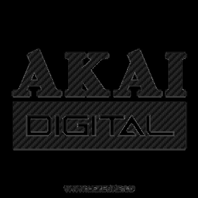 Akai Digital Carbon Decal