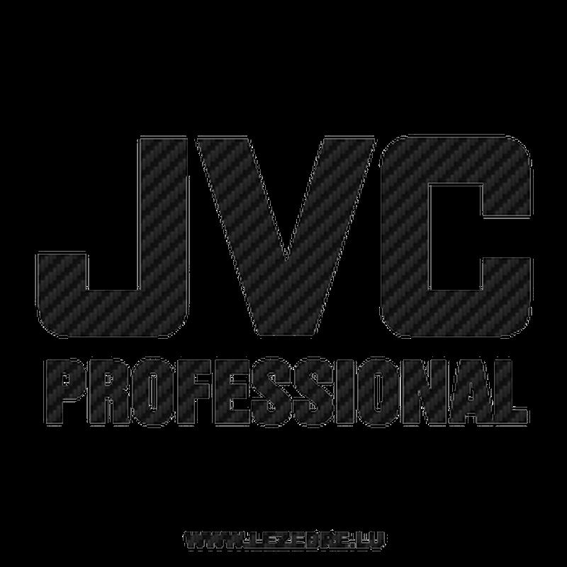JVC Professional Carbon Decal