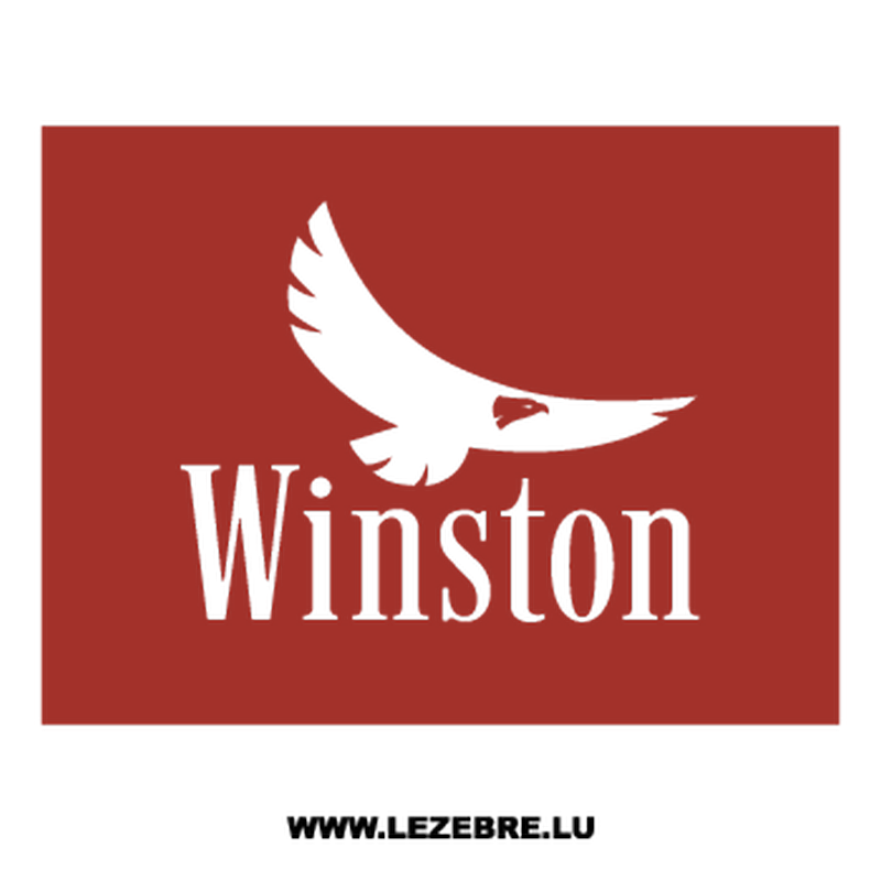 Winston Eagle Logo Decal