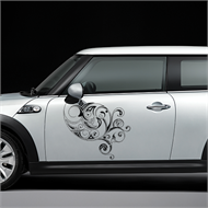 Ornament decoration decal model 01