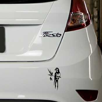 Bird Ford Fiesta Decal